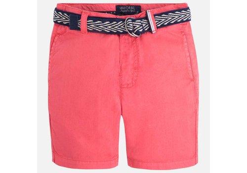 Mayoral Boy shorts with belt