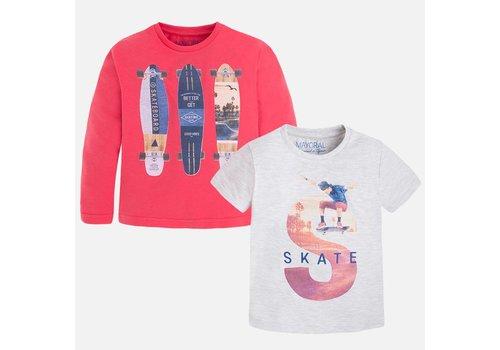Mayoral boy trui & shirt skate