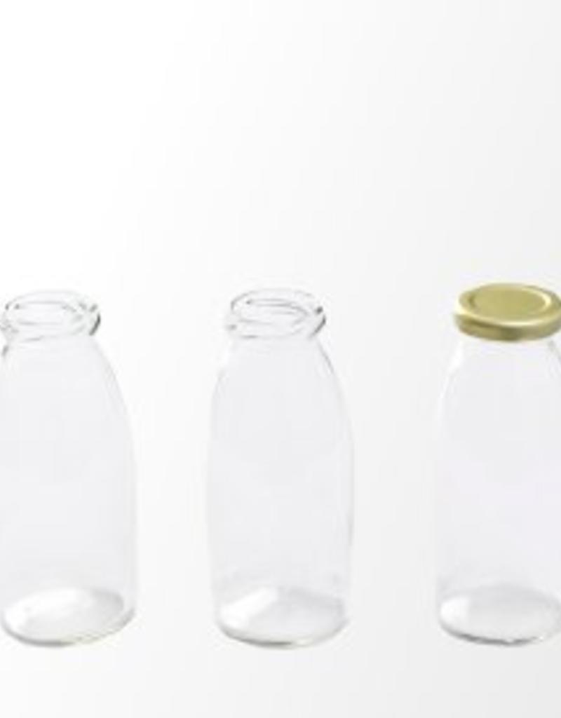 Retro Retro milk bottles incl cap (1 pcs.)