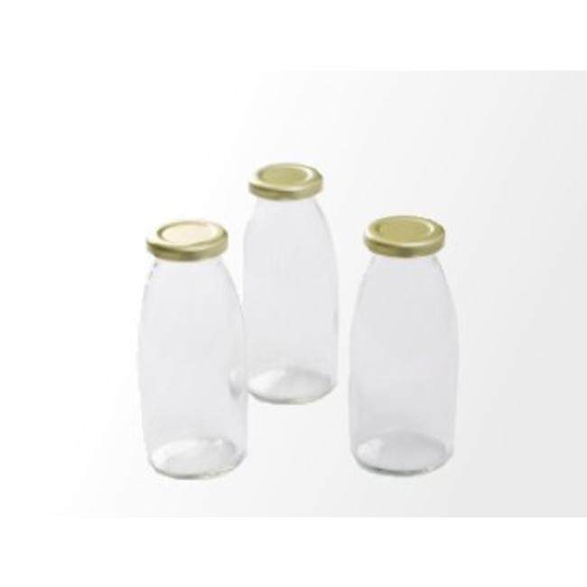 Retro Retro milk bottles incl cap (1 pcs.)