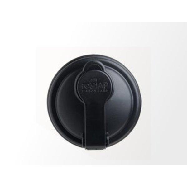 reCAP Mason Jar - Regular Mouth BLACK
