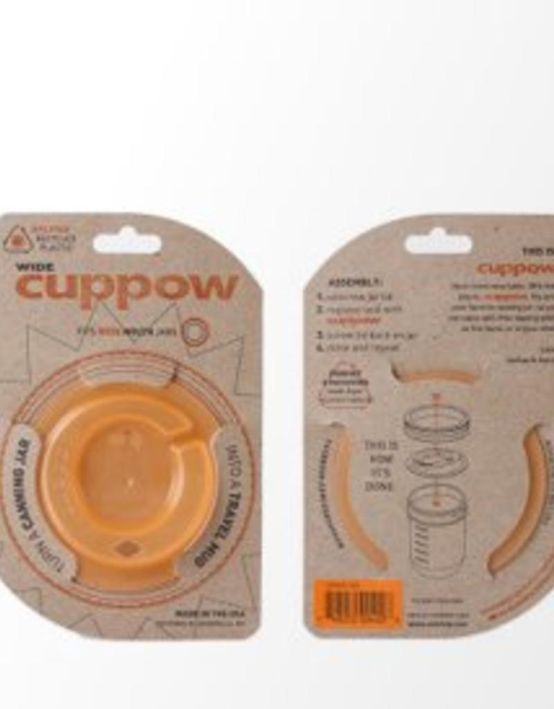 Cuppow Cuppow Wide Mouth Orange