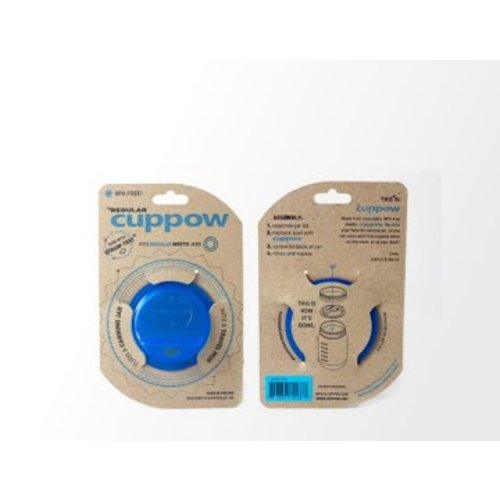 Cuppow Cuppow Regular Mouth Blue