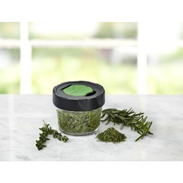 Ball Masonjar dry herb jars (4oz) 4 pieces