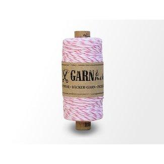 Garn Bäcker-garn Pink