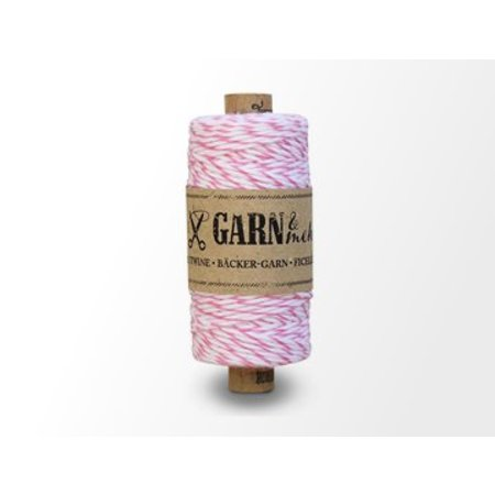 Garn Bäcker-garn roze