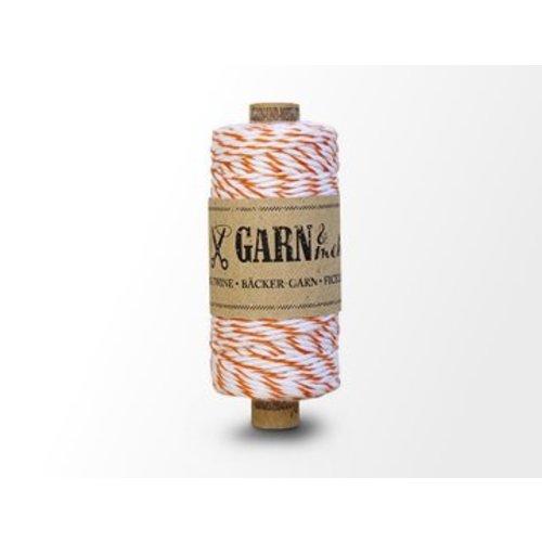Garn Bäcker-garn oranje