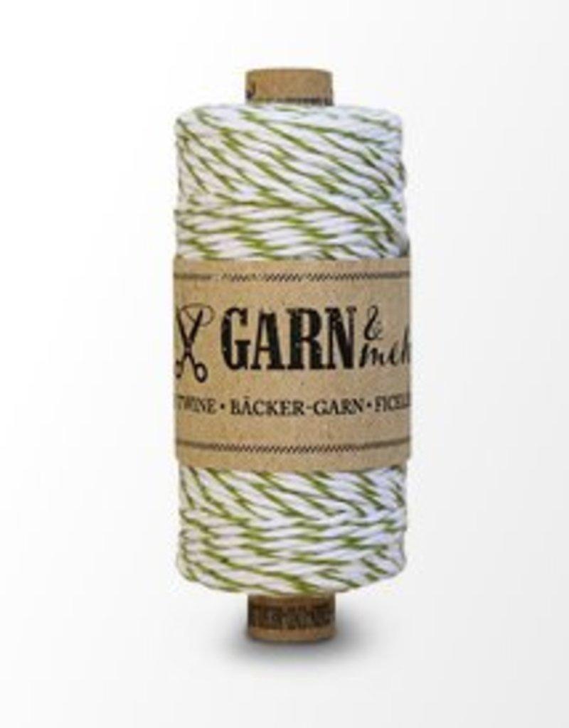 Garn Bäcker-garn Moss-green