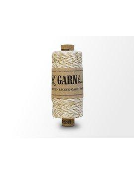 Garn Bäcker-garn Gold - Natural white