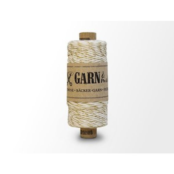 Bäcker-garn Gold - Natural white