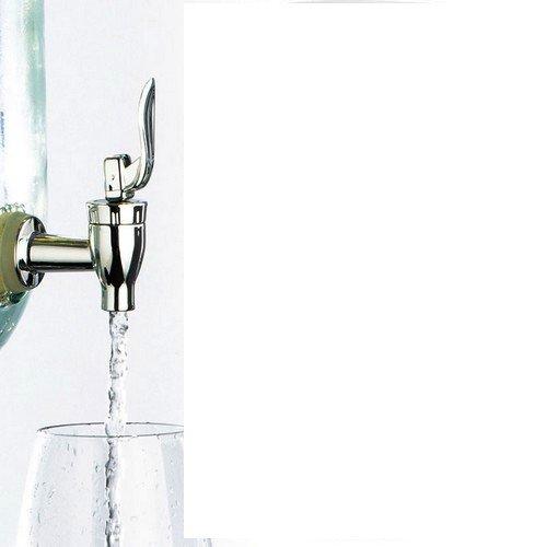 Masonjar closing rubber drinkdispenser