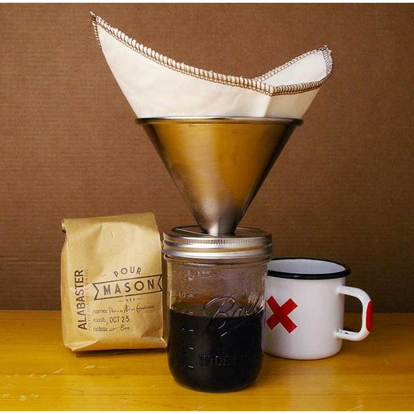 Pour Mason koffiefilter
