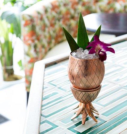 Masonjar Cocktail Tumbler Pineapple GOLD