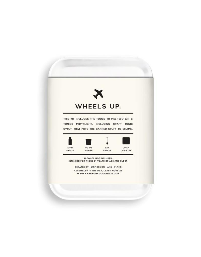 W&P Design Gin & Tonic carry on Cocktail kit