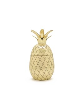 W&P Design Cocktail Tumbler Pineapple GOLD