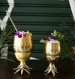 W&P Design Cocktail Tumbler Pineapple GOLD