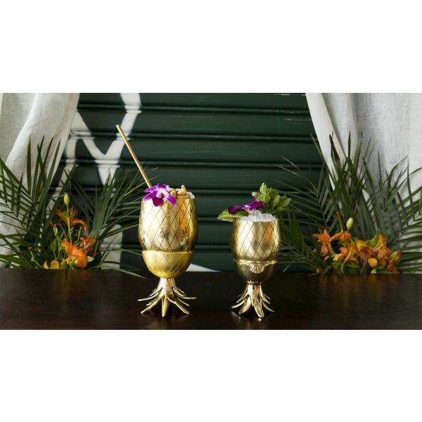 Cocktail Tumbler Pineapple GOLD