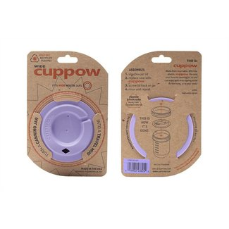 Cuppow Cuppow wide mouth lavender