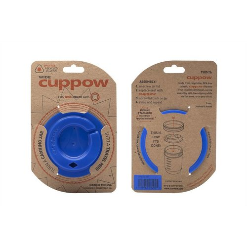 Cuppow Cuppow wide mouth demin