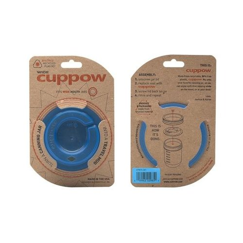 Cuppow Cuppow wide mouth blue