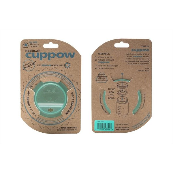 Cuppow regular mouth mint