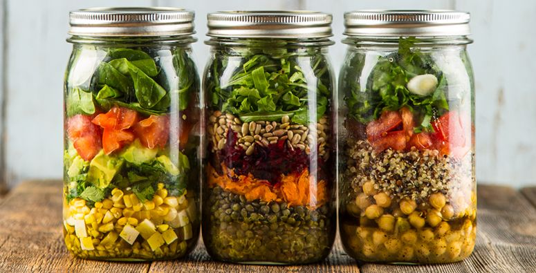 Salads on the go