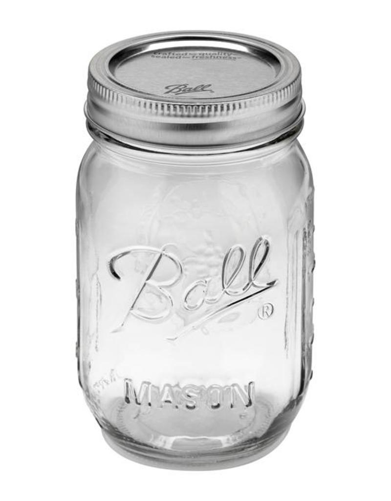 Ball 16 Oz  Ball Mason Jars Pint Regular