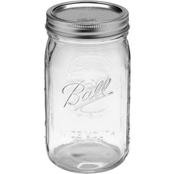 Ball quart wide mouth (32 oz) 12 pieces