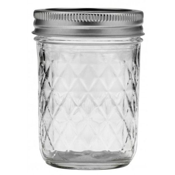 Ball quilted crystal jelly  (8oz) | 12 stuks