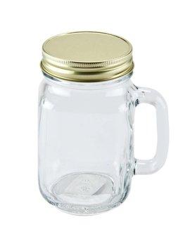 Masonjar Mason Jar regular lid gold