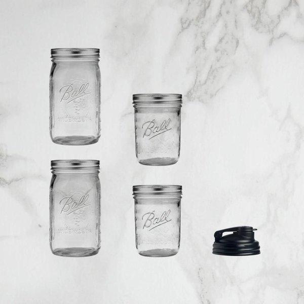 Mason jar Gift Set 5 pieces