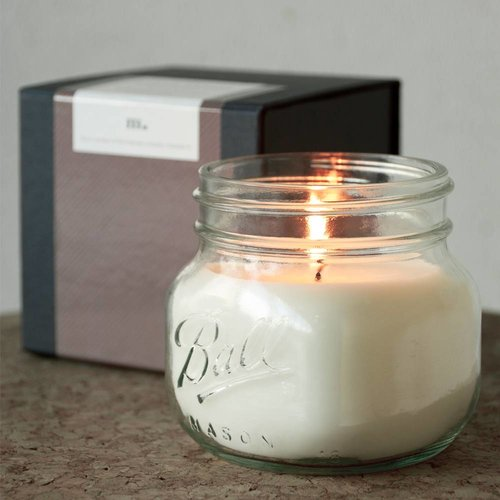 Masonjar Label Mason Jar Candle