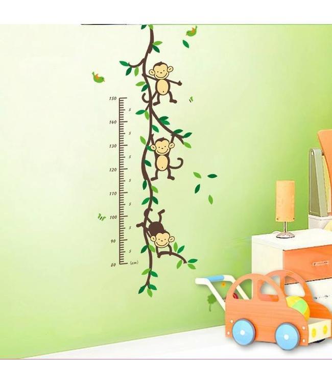 Groeimeter met aapjes