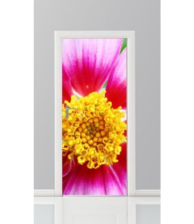 Deursticker bloemen 18