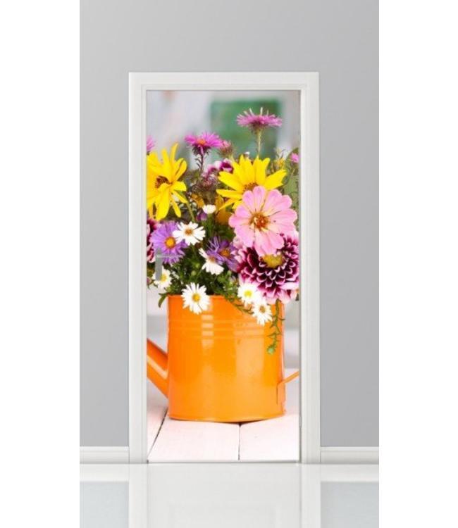 Deursticker bloemen 22