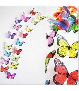 3D vlinders mooie kleuren