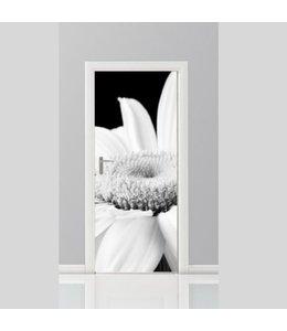 Deursticker bloemen 1