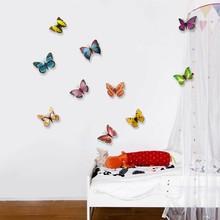 3D vlinders meerkleurig allerlei kleuren