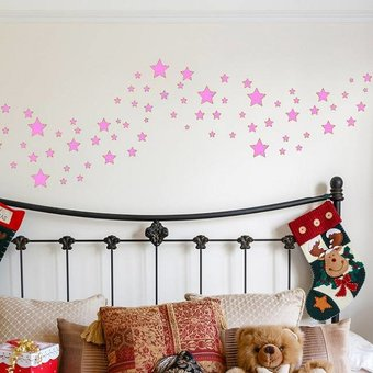 muursticker sterren -muurstickers voor de kinderkamer en babykamer, Deco ideeën