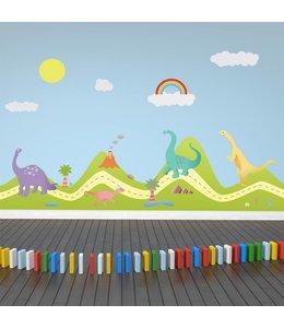 Muursticker dinosaurus park