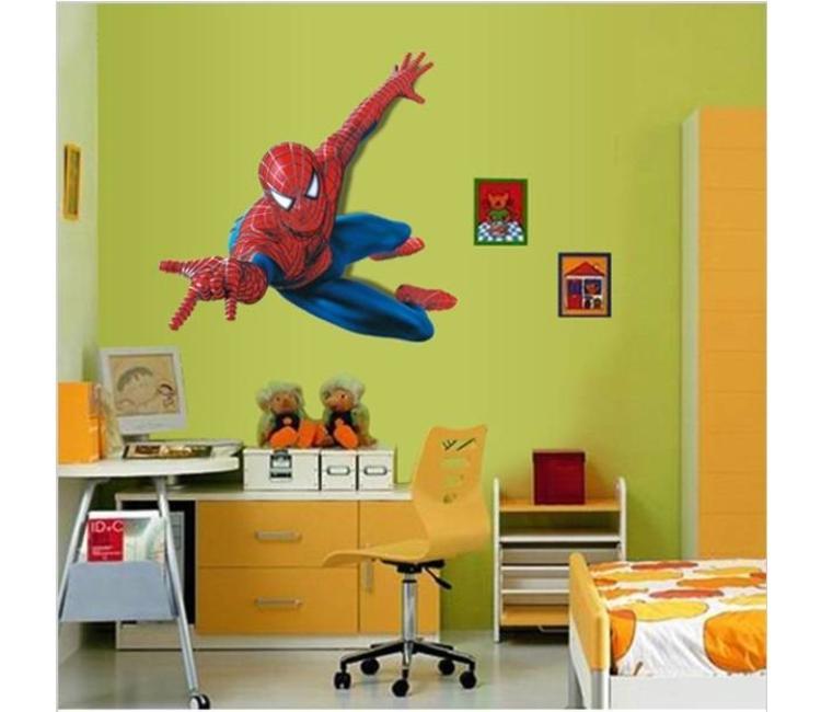 Muursticker spiderman - muursticker kinderkamer - Muurstickers&zo