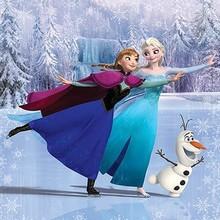 Walltastic Fotobehang Disney Frozen skating XL