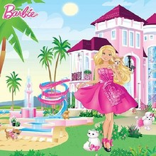 Walltastic Fotobehang Barbie XL