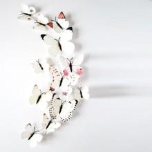 3D vlinders mix wit