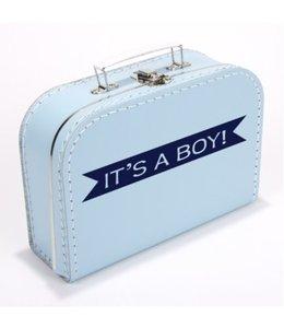 Kinderkoffertje it's a boy