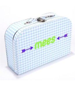 Kinderkoffertje met naam pijl