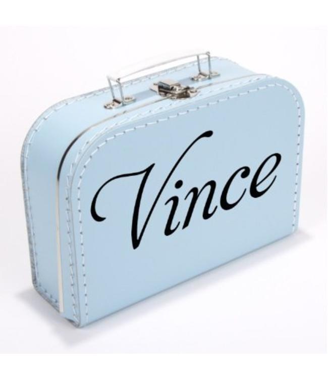Kinderkoffertje met naam script