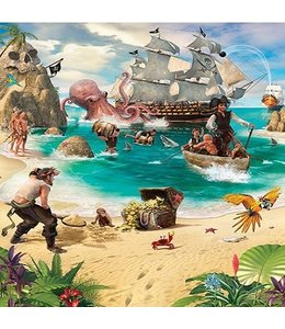 Fotobehang piraten XL