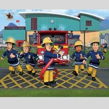 Walltastic Fotobehang brandweerman Sam XXL