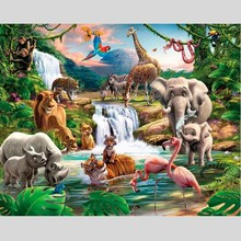 Walltastic Fotobehang jungle XXL